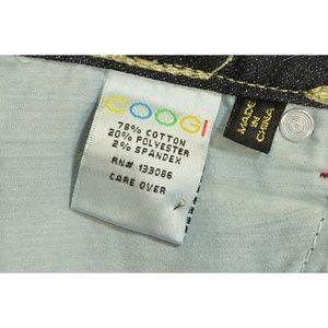 COOGI Jeans - Coogi jeans 3/4 x 33 dark skinny embroidered back